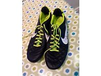 Nike tiempo size 9 signed by Chris Cohen