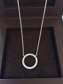 Genuine Pandora Hearts of Pandora Silver Necklace