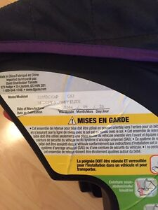 Car seat with base and matching stroller. Baby things   Gatineau Ottawa / Gatineau Area image 4