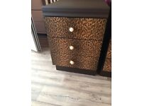Three drawer chest / bedside cabinet