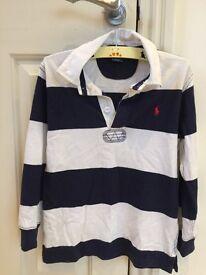 RALPH LAUREN POLO kids rugby shirt