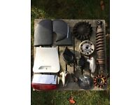 Vespa ET2 parts. Sold as one lot or separately.