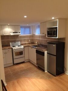 All inclusive 1 bedroom basement apartment for rent