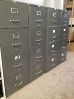 Classeurs 4 tiroirs - 4 drawer filing cabinets