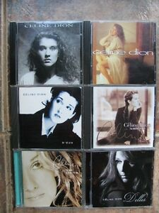 lot de CD Céline Dion
