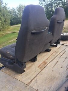 Front and rear cloth seats for second gen Dodge Ram