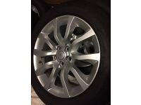 """Range Rover Sport 20"""" Wheels with tyres"""