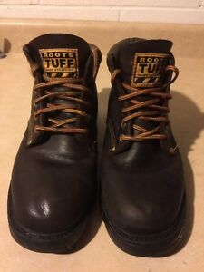Men's Roots Tuff Brown Hiking Boots Size 9.5 London Ontario image 4