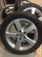 SUMMER TIRES WITH MAGS FOR SALE