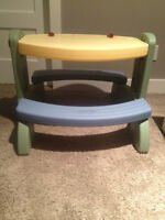 Little Tikes Picnic Table/Easel