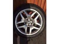 "GENUINE 18"" OEM BMW X3 M Sport alloy Wheels All New Tyres 235/50/18 255/45/18"