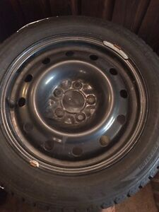 4 winter tires with rims size 205/55R16