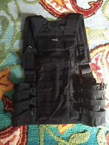 Airsoft vest and mask