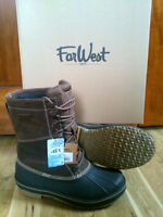 FarWest Winter Boots Size 12