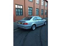 BMW 320 Coupe 2.2 Silver