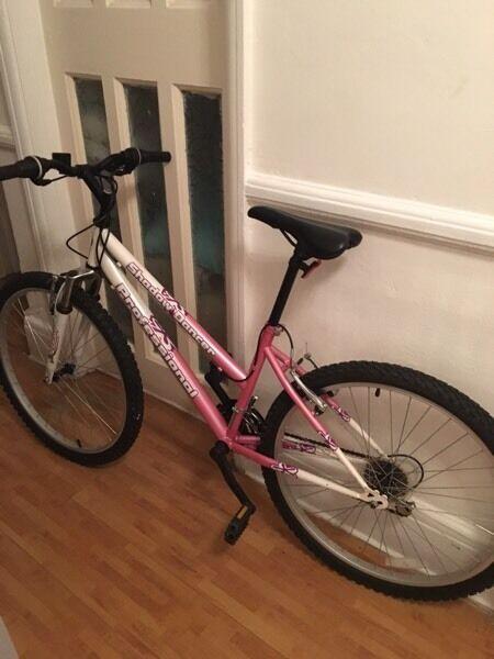 Womens pink & black bike STILL AVAILABLE