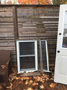 Door and windows for sale.