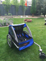 2-Seat Bike Trailer (also Double Stroller, Tricycle/Bike) 4 SELL
