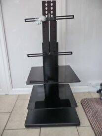 Large Tv Stand with entertainment shelves was £200