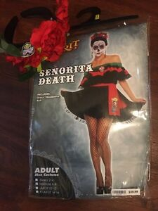 Day of the Dead Halloween costume medium