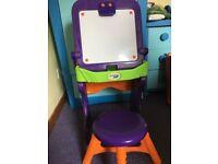 Crayola art desk with stool