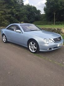 Cl 500 2001 one owner from new