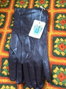 Portolano brown leather gloves - exquisite
