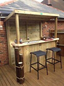 Pallet style Eco garden furniture/garden bar/ man cave