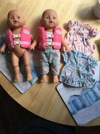Swim dolls