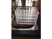 MUJI acrylic wide drawers