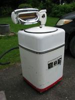 L'ISLET Antique MACHINE À TORDEUR FONCTIONNE Laveuse à Linge