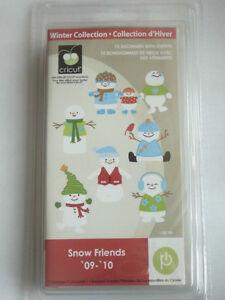 Cricut SNOW FRIENDS cartridge - $40