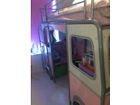 Pink Campervan Bed