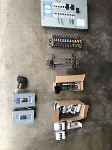Sylvania FPE used, obsolete, breakers,fuses. many types $2-$75