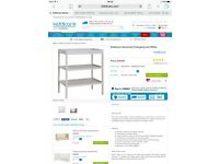 White changing table, unused