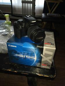 Canon Rebel XT camera