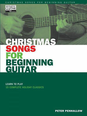 Christmas Songs for Beginning Guitar Sheet Music Learn to Play 15 Comp 000699495