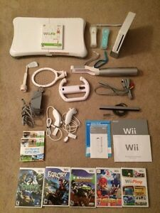 WII system, WII fit plus accessories for sale