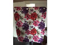 48x52 floral curtains