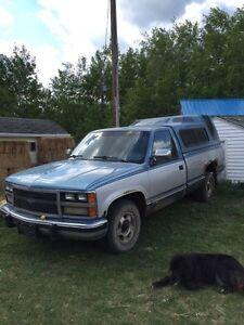 87' Chevy 1500 RWD. $850