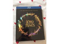 Brand new Blu-Ray Lord of the Rings trilogy