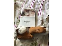 Clarks baby boots