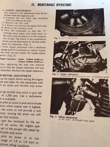 1982 Honda CB125S Shop Manual Regina Regina Area image 3