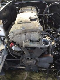 Mercedes 180 petrol engine - build 1997 C180 model - Mercedes parts available