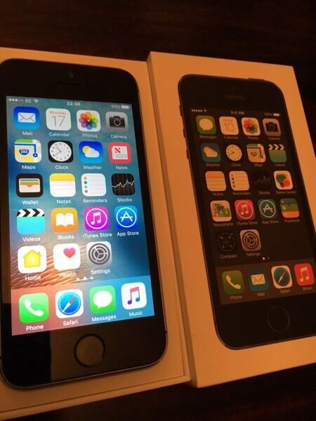 Apple iPhone 5s 16gb. EE/virgin mediain Middlesbrough, North YorkshireGumtree - Apple iPhone 5s 16gb EE network. Factory reset and logged out of iCloud/iTunes accounts. In immaculate new condition. Like new. Well looked after. Upgraded. iOS 10.0.2 latest software installed. Apple charger in original box. £145.00. No offers. Any...