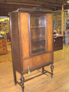 Early One Piece China Cabinet 50% OFF London Ontario image 2