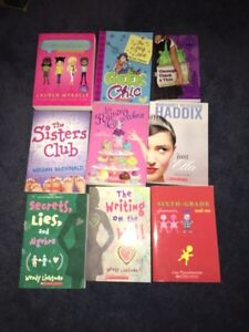 Young Teen Girl Book Lot