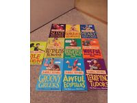 Brand new horrible histories books