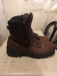 Men's insulated steel toe work boots Prince George British Columbia image 1