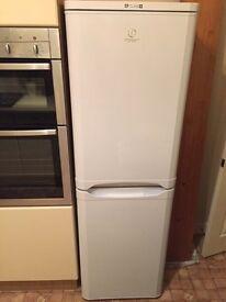 Indesit fridge freezer - White